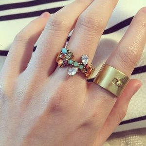 Madewell Jewelry - Madewell Glider Wide Rings